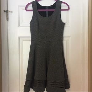 Textures Knit A-line Dress- Doe & Rae- never worn